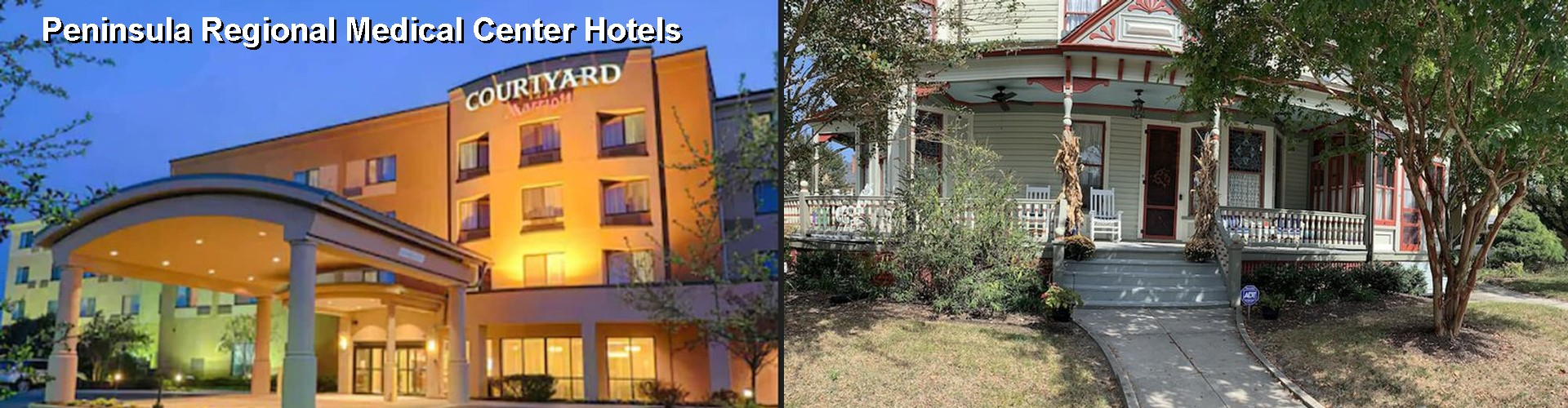 5 Best Hotels near Peninsula Regional Medical Center
