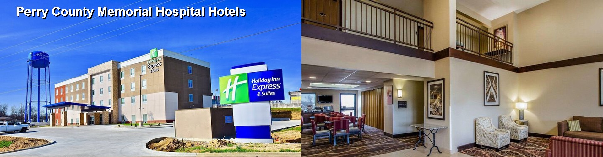 5 Best Hotels near Perry County Memorial Hospital