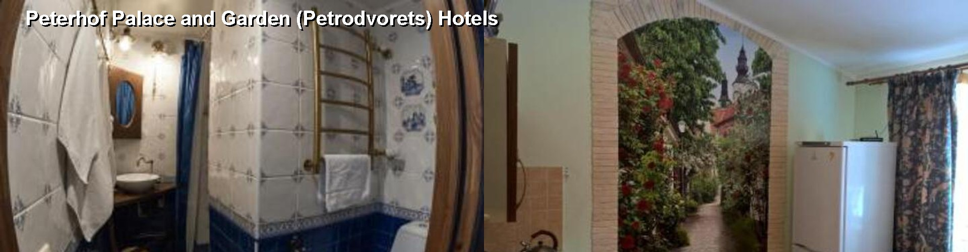5 Best Hotels near Peterhof Palace and Garden (Petrodvorets)