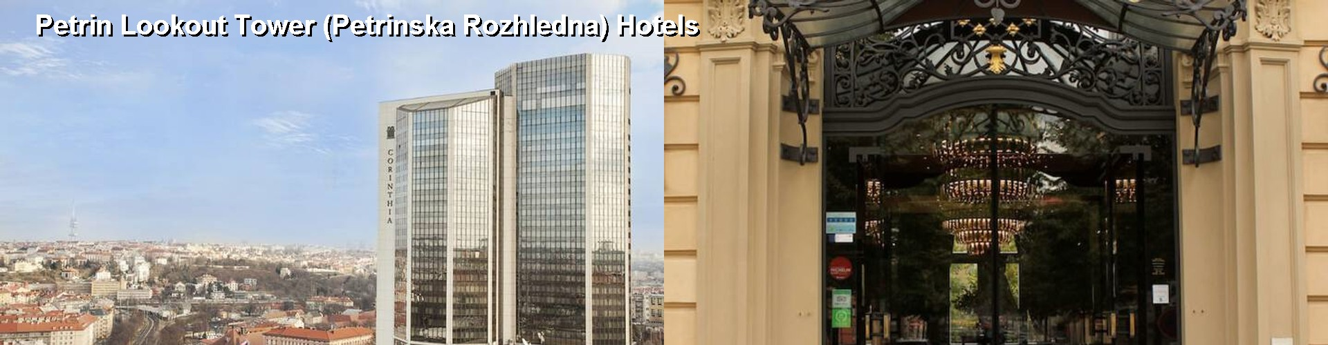 5 Best Hotels near Petrin Lookout Tower (Petrinska Rozhledna)