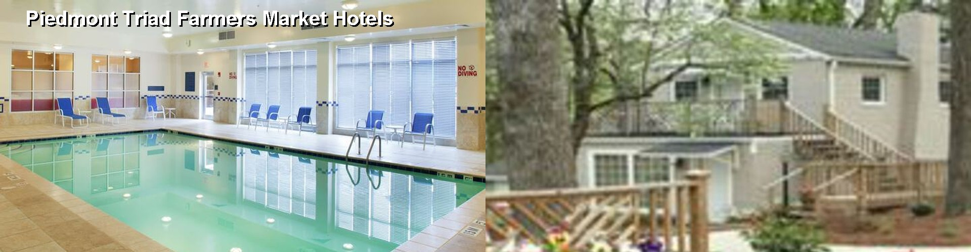 5 Best Hotels near Piedmont Triad Farmers Market