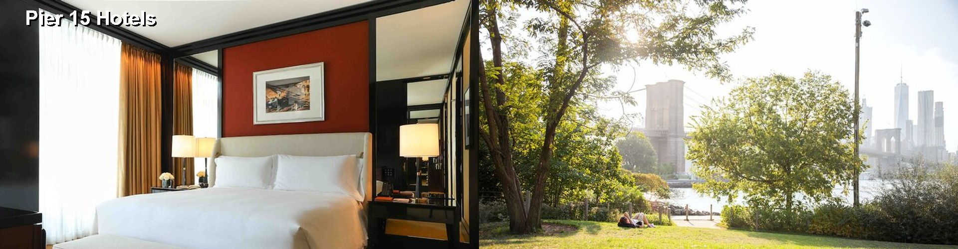 74 hotels near pier 15 in new york city ny for Pier hotel new york