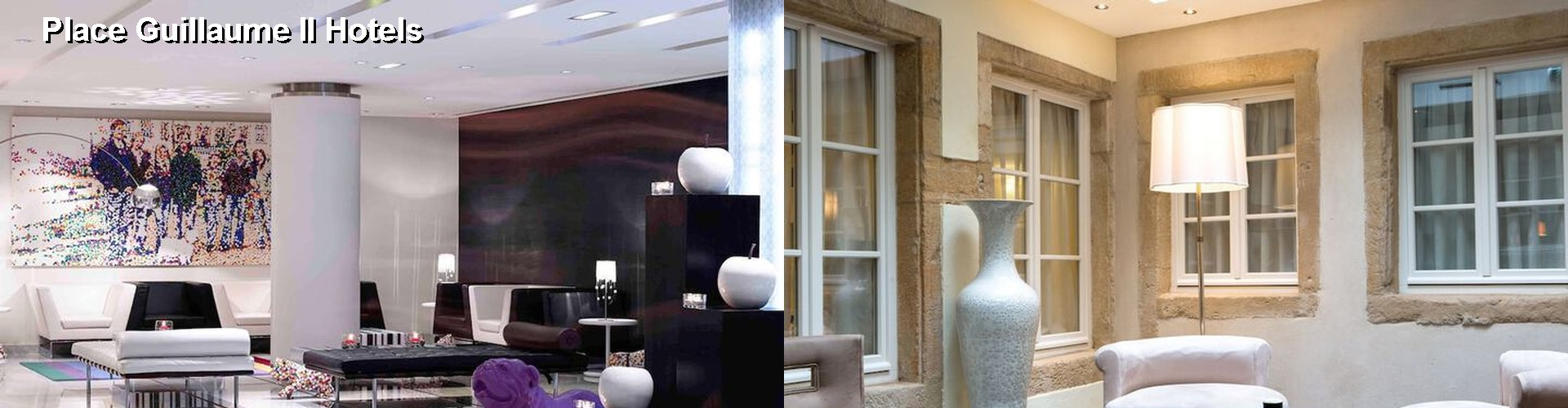 5 Best Hotels near Place Guillaume II
