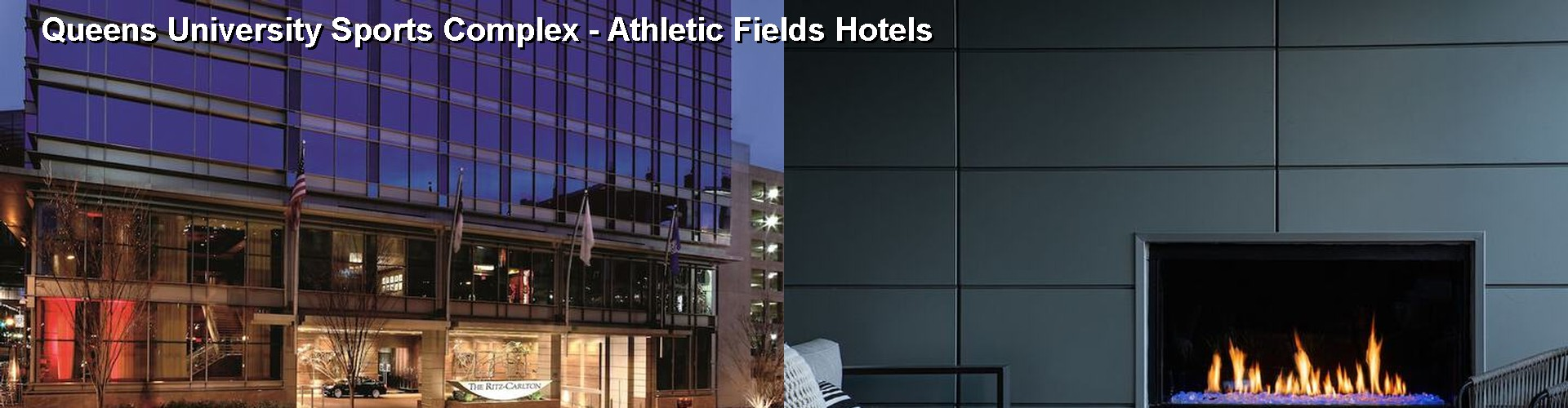 Hotels Near Queens University Sports Complex - Athletic Fields in ...