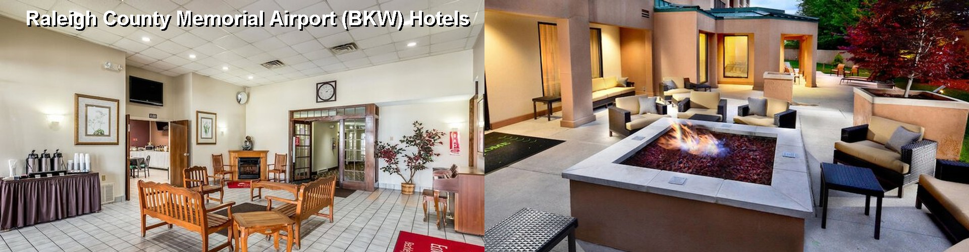 5 Best Hotels near Raleigh County Memorial Airport (BKW)