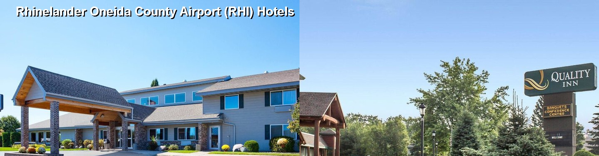 5 Best Hotels Near Rhinelander Oneida County Airport Rhi