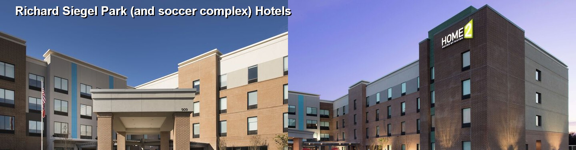 Hotels Near Richard Siegel Park And Soccer Complex In