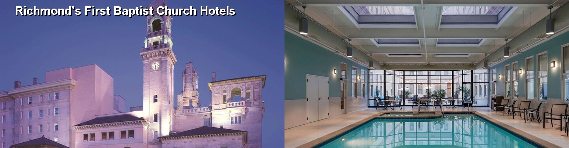 4 Best Hotels near Richmond's First Baptist Church