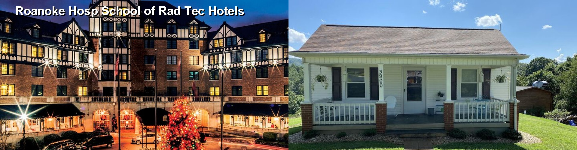 5 Best Hotels near Roanoke Hosp School of Rad Tec