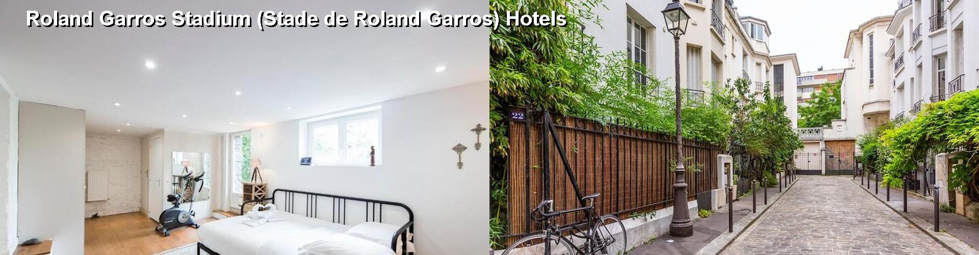 Star Hotels Near Roland Garros