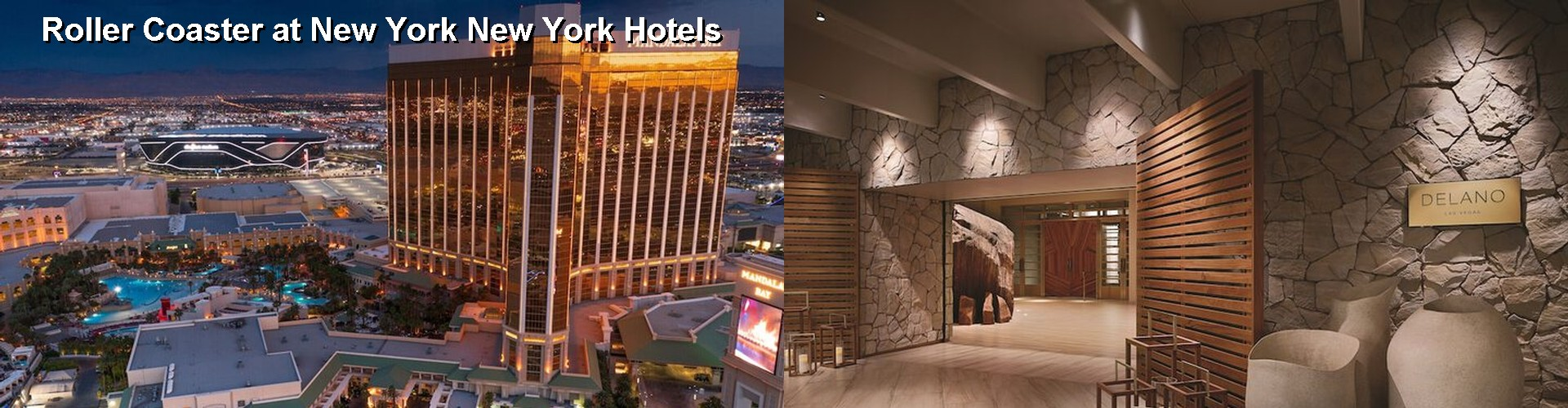 5 Best Hotels near Roller Coaster at New York New York