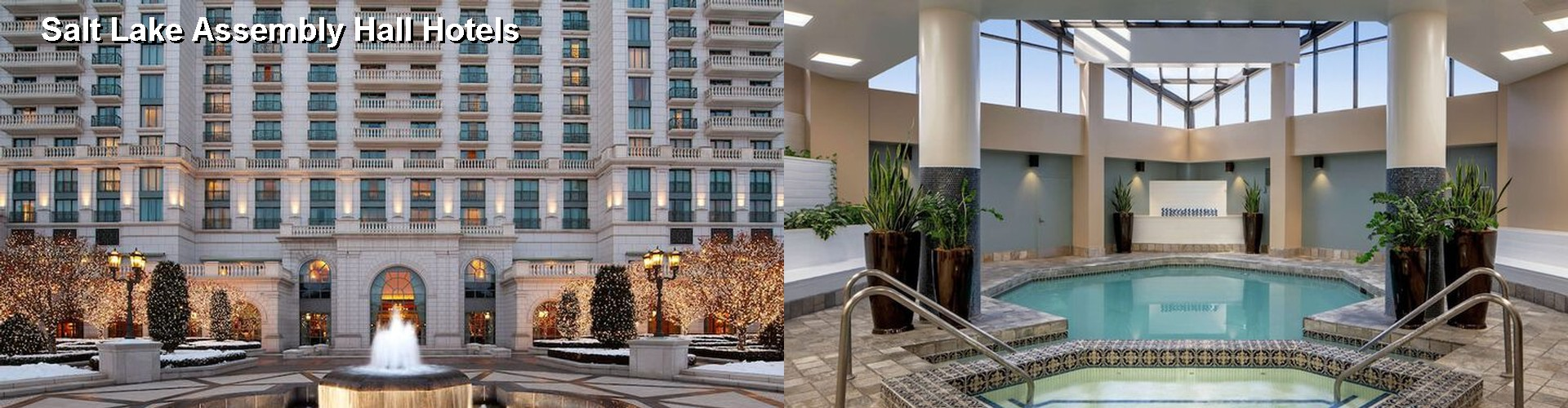 5 Best Hotels near Salt Lake Assembly Hall