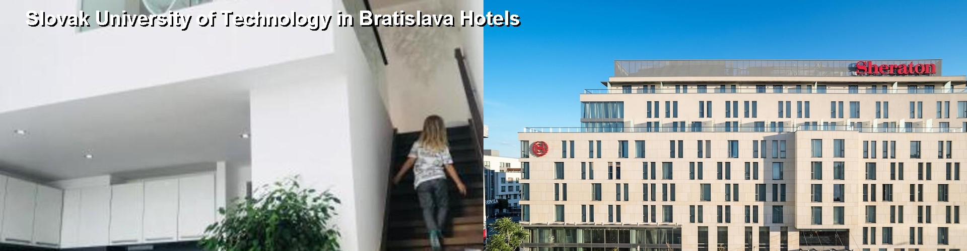 5 Best Hotels near Slovak University of Technology in Bratislava