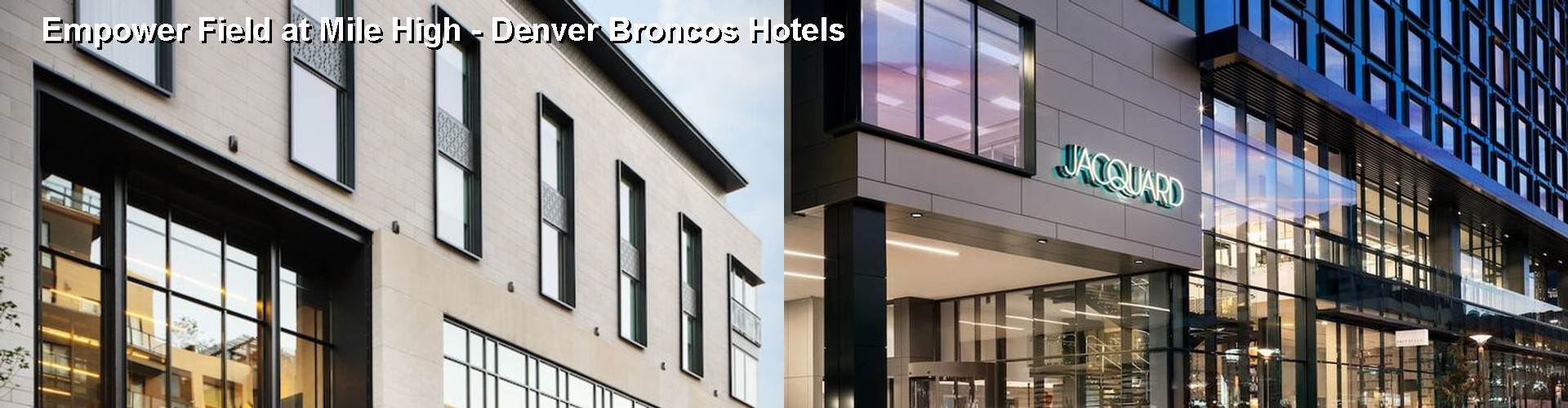 5 Best Hotels near Sport Authority at Mile High Denver Broncos