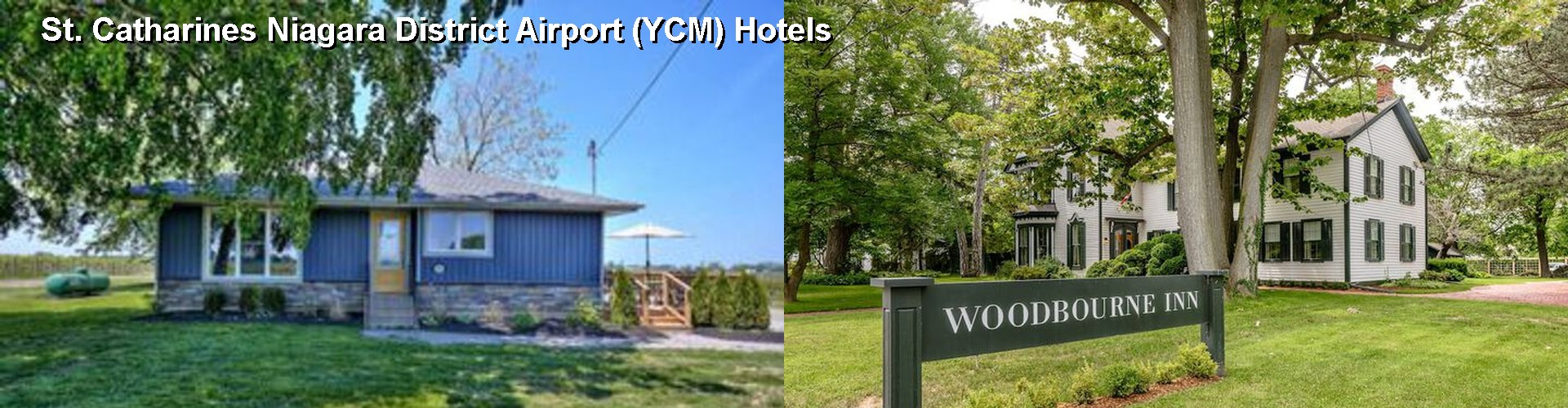 5 Best Hotels near St. Catharines Niagara District Airport (YCM)