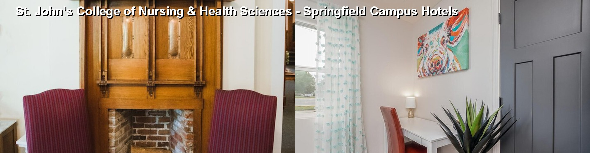 5 Best Hotels near St. John's College of Nursing & Health Sciences - Springfield Campus