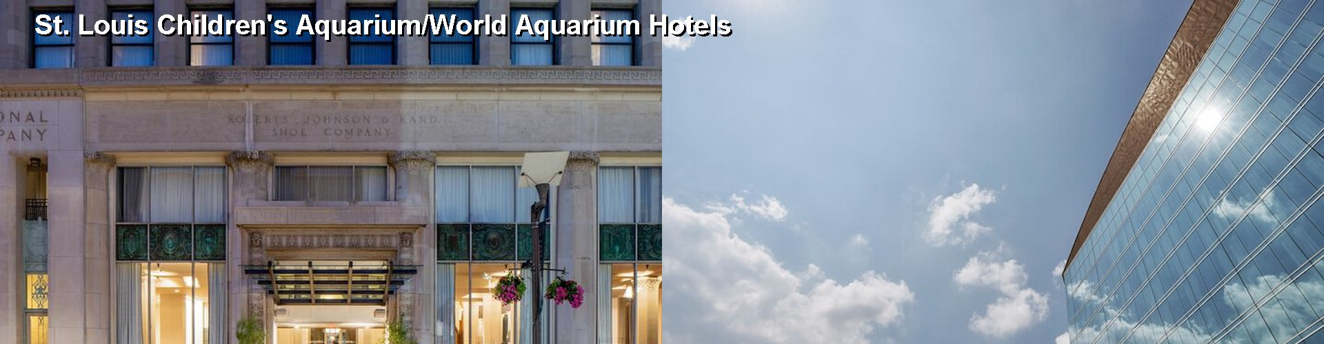 5 Best Hotels near St. Louis Children's Aquarium/World Aquarium