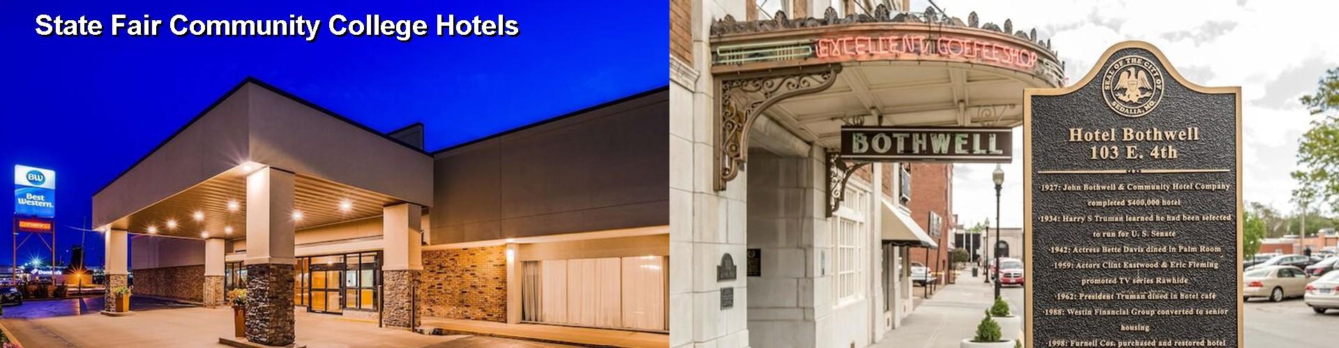 42 Hotels Near State Fair Community College In Sedalia Mo