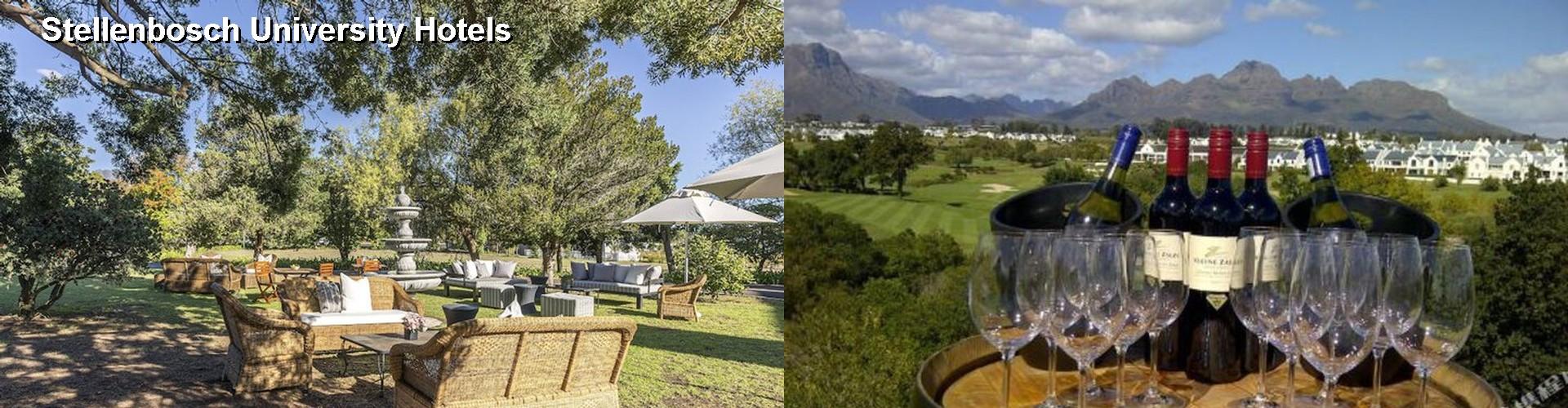 FINEST Hotels Near Stellenbosch University