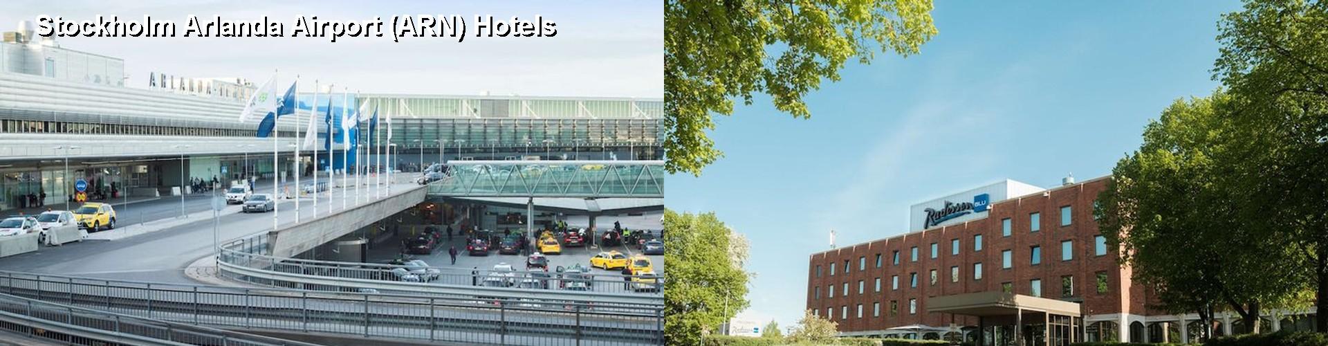 hotels near stockholm arlanda airport arn