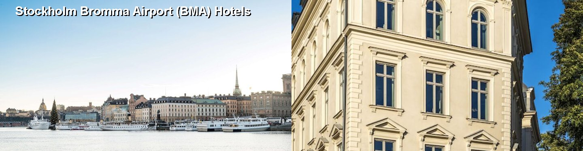 5 Best Hotels near Stockholm Bromma Airport (BMA)