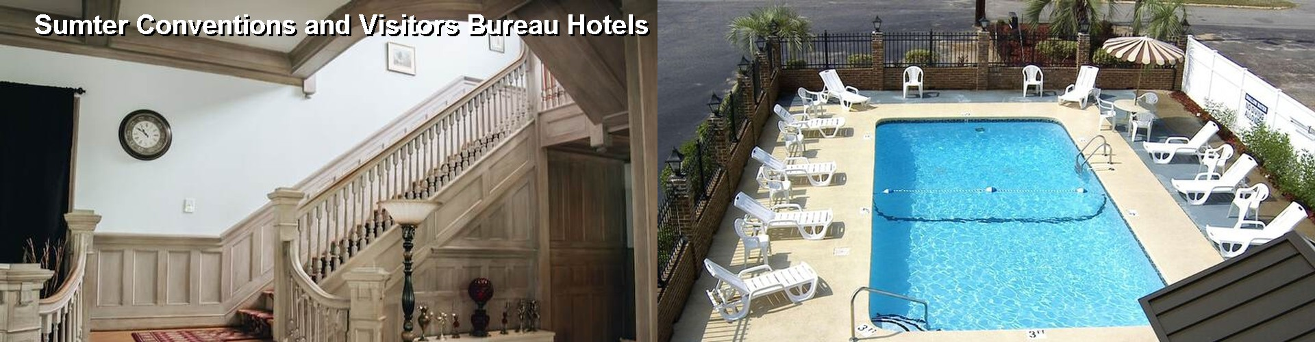 5 Best Hotels near Sumter Conventions and Visitors Bureau