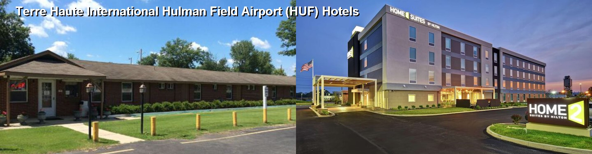 3 Best Hotels near Terre Haute International Hulman Field Airport (HUF)