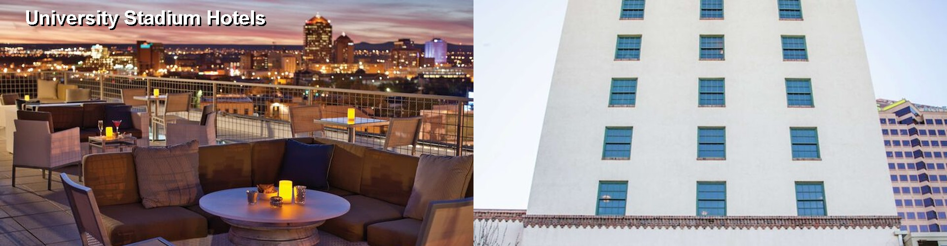 $37+ Hotels Near University Stadium in Albuquerque (NM)