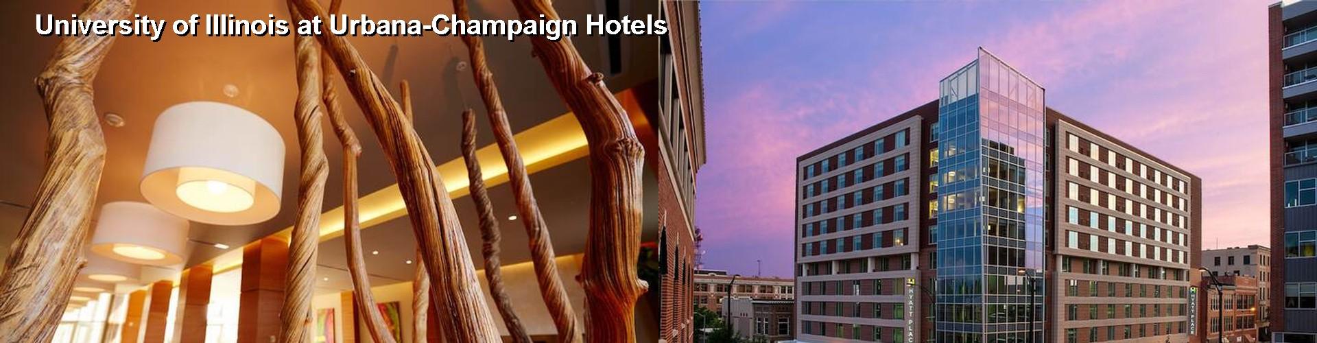 5 Best Hotels Near University Of Illinois At Urbana Champaign