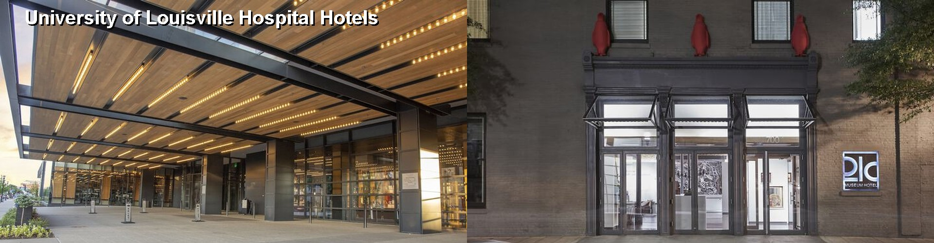 $48+ Hotels Near University of Louisville Hospital KY