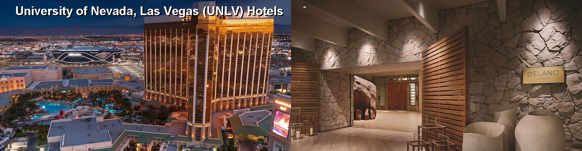 5 Best Hotels near University of Nevada, Las Vegas (UNLV)