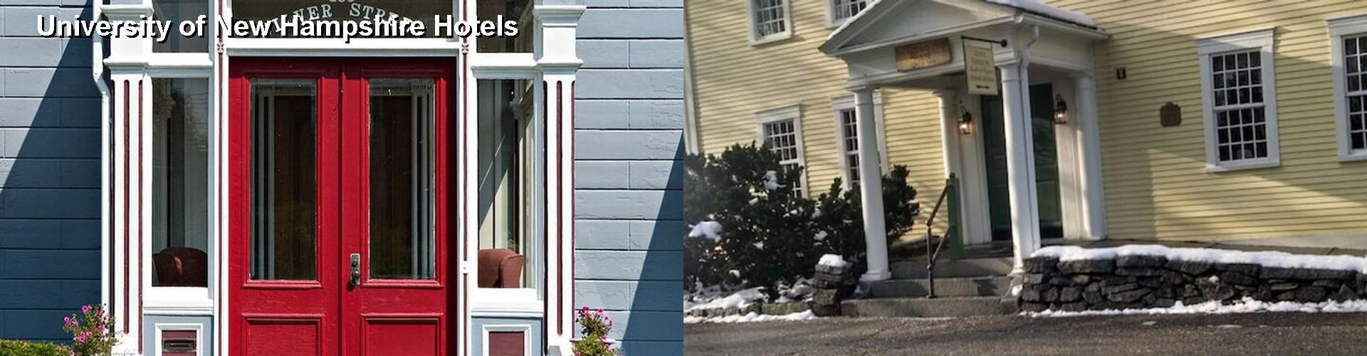 5 Best Hotels Near University Of New Hampshire