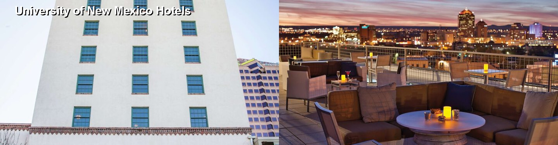 5 Best Hotels near University of New Mexico