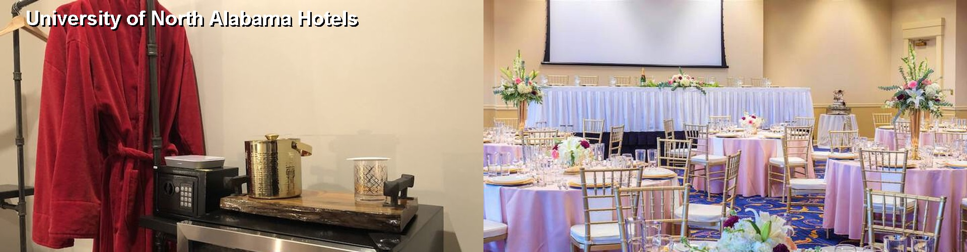 5 Best Hotels near University of North Alabama