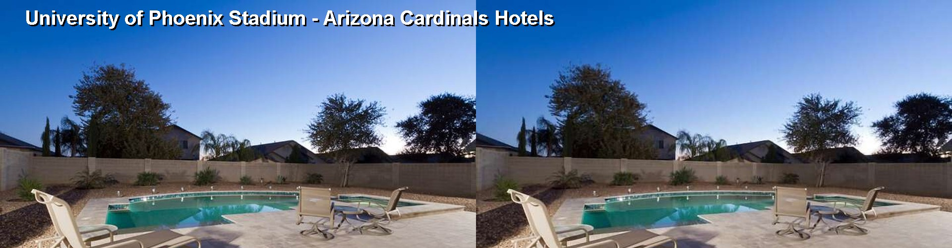 Hotels Near University of Phoenix Stadium Arizona Cardinals in