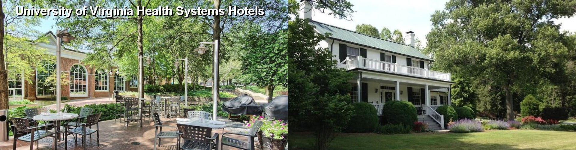 5 Best Hotels near University of Virginia Health Systems