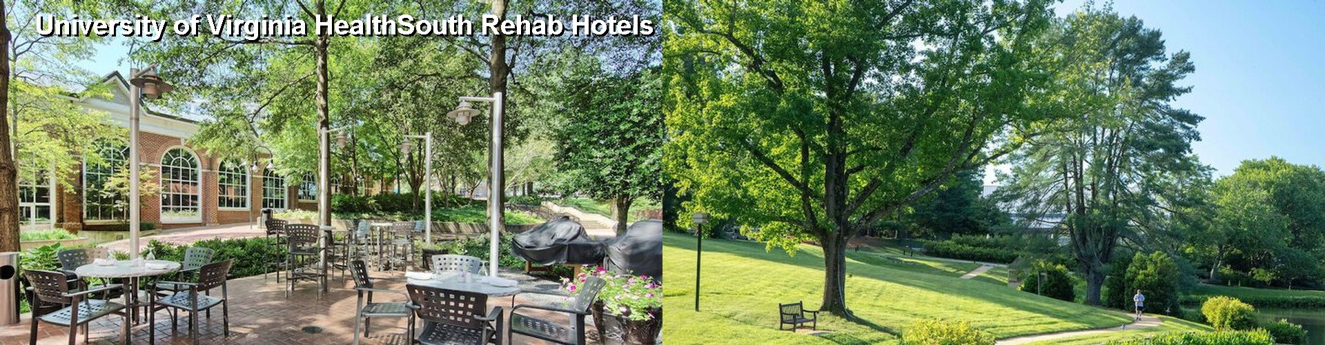5 Best Hotels near University of Virginia HealthSouth Rehab