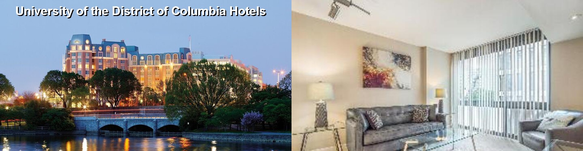 5 Best Hotels near University of the District of Columbia