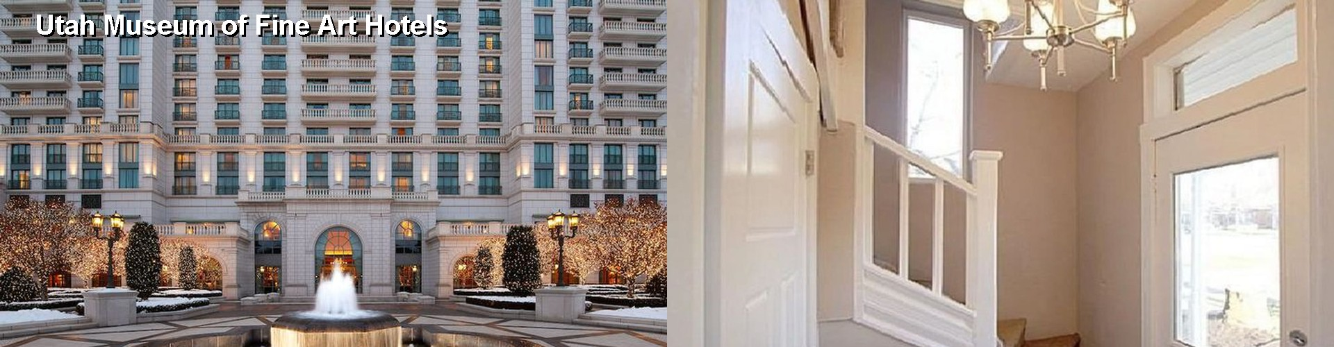 5 Best Hotels near Utah Museum of Fine Art