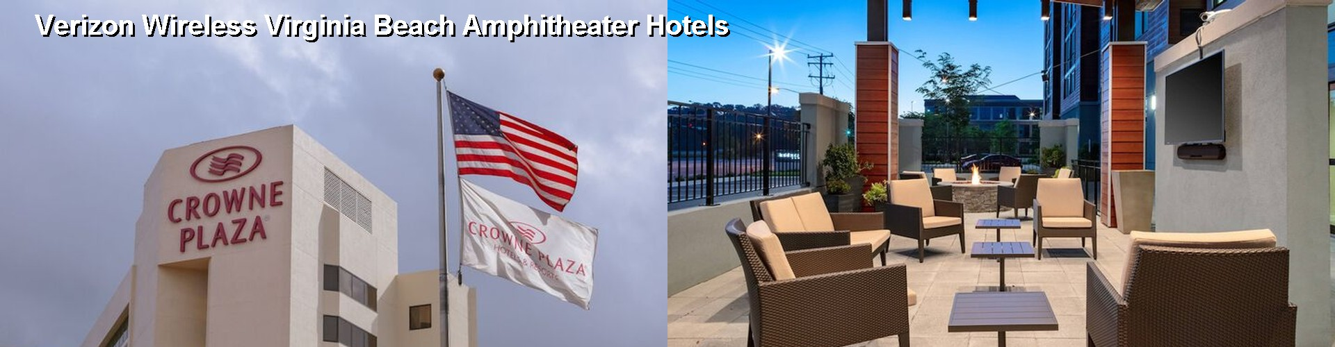 5 Best Hotels near Verizon Wireless Virginia Beach Amphitheater