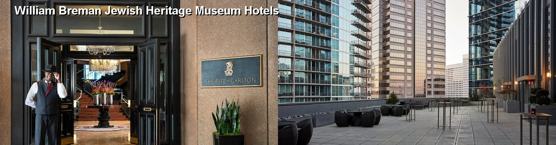 5 Best Hotels near William Breman Jewish Heritage Museum