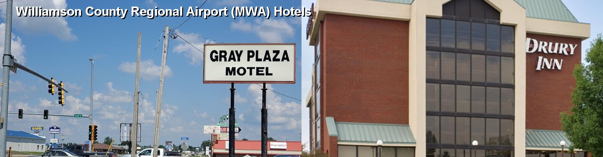 5 Best Hotels near Williamson County Regional Airport (MWA)