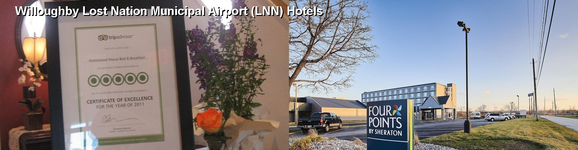 5 Best Hotels near Willoughby Lost Nation Municipal Airport (LNN)