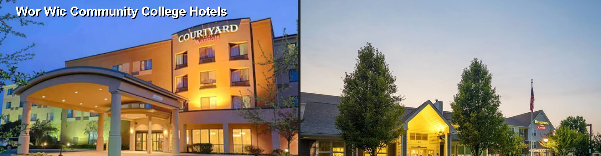5 Best Hotels near Wor Wic Community College
