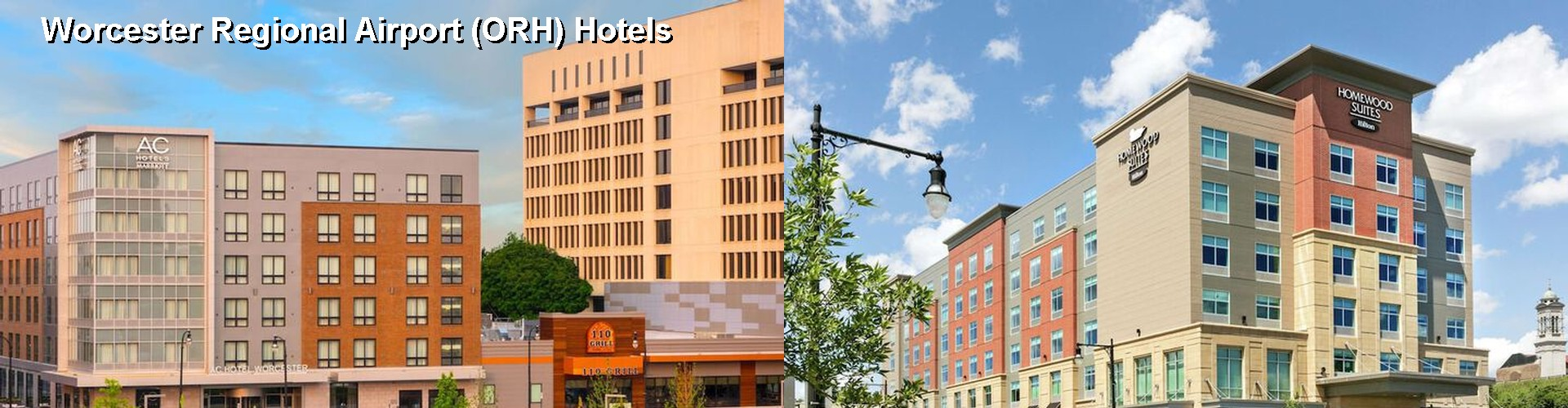 5 Best Hotels near Worcester Regional Airport (ORH)