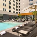 Swimming pool at Aloft Hotel Dallas Love Field