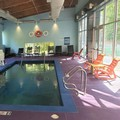Swimming pool at Aloft Lexington