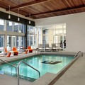 Swimming pool at Aloft Montreal Airport by Starwood Hotels & Resort