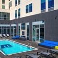 Swimming pool at Aloft Okc Downtown / Bricktown