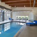 Swimming pool at Aloft Vaughan Mills by Starwood Hotels & Resorts